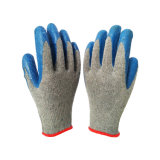 Kundenspezifische überzogene Handschuhe des Latex-10g für Füße