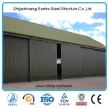 Supplier Prefabricated Metallic Structure Peb Industrial Commercial Storage Shed clouded