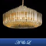 Tubo de vidro Braten decorativa Lustre Lâmpada para Hotel Projecto de iluminação