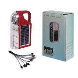 Solar portable LED linterna recargable linterna