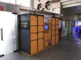 Bloqueio da Caixa de Correio Eletrônico preto, ligas de alumínio e magnésio Letterbox Fechadura Digital