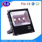 Shcet 9000lm 100W blanc chaud LED haute puissance avec ce projecteur extérieur CB ERP pour
