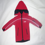子供のスポーツのSoftshellのジャケット(SM-SF1507)
