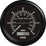 85mm GPS Speedometer Velometer avec Mating Antenna 0-30 Knots 12V pour Boat Yachts