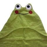 Хлопка лягушка животных колпачковая полотенце для малыша
