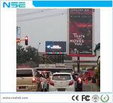 정면 서비스 P10 조정 임명 옥외 LED 영상 벽 전시 광고