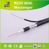 15 ans de câble coaxial de liaison Rg59c/U, Rg59b/U de produit professionnel de fabrication