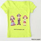 Couche de revêtement en PU, T-shirt foncé à coupe facile Transfert de chaleur Impression de transfert de papier pour tissu 100% coton