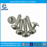 Tornillos penetrantes del acero inoxidable de la alta calidad DIN968 con el collar