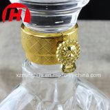 Botella de cristal de Champán del brandy