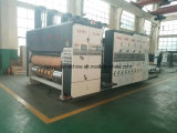 Коробка коробки делая машиной Corrugated картон прорезая печатную машину