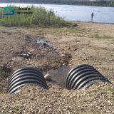 HDPE Polyäthylen-doppel-wandiges gewölbtes Rohr für Abwasser