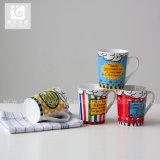 Venda quente 12oz Promocional Caneca de cerâmica