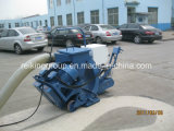 Limpeza da superfície da estrada horizontal Granalhagem a máquina