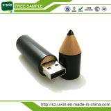 Movimentação da pena do USB do lápis para o presente relativo à promoção