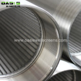 Toilets Well Screen Casing Pipe Slotted Wedge Wire Screen for Drilling