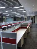現代様式の優れたスタッフの区分ワークステーション事務机(PS-AWK-008)