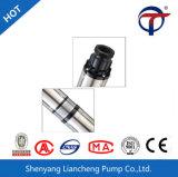 Pompa ad acqua ad alta pressione elettrica del regolatore di CA della pompa solare sommergibile incorporata di CC