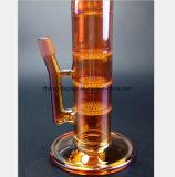 Drei-Schicht 18.5-Inch Bienenwabe-Filter-Huka-Glaspfeife