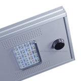 Eclairage extérieur d'éclairage en aluminium 18W Rue lumière LED solaire intégré
