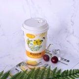 El uso de la bebida y las tazas dobles del papel de empapelar del estilo 12oz de la taza modificaron la taza de café para requisitos particulares de la insignia