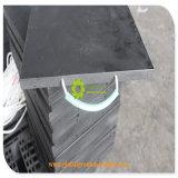 変化カラーかカスタマイズされた頑丈なプラスチッククレーンアウトリガーパッドの良質