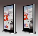 киоск касания 55inch двойной бортовой напольный LCD