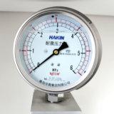 100mm Menometer Manómetro resistente a golpes con acero inoxidable