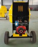 600L, 650L, 700L, 750L, 800 L de capacidade Diesel ou motor a gasolina misturador de concreto