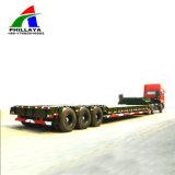 niedriger Ladevorrichtung 3-Line-6-Axle Lowboy halb LKW-Hochleistungsschlußteil 100ton