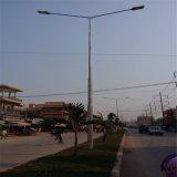 ダブルアーム付き街路照明ポール