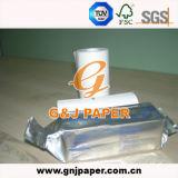 papel sintetizado termal 110hg usado para la impresora médica del ultrasonido