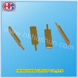 Pin elettrico dell'ottone della spina, benvenuto all'abitudine (HS-BC-0024)
