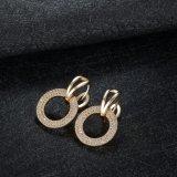 CZ 금에 의하여 도금되는 한국 작풍 굴렁쇠 귀걸이를 가진 금관 악기 구리
