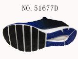 Nr 51677 Schoenen van de Voorraad van de Sport van de Kleur van de Dame & van Mensen de Blauwe