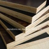 La película negra constructiva hizo frente a la madera contrachapada para la construcción