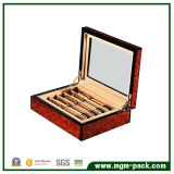 Stylo en bois de haute finition glossy Box pour l'emballage