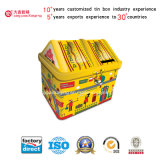 Metallzinn-Kasten für Süßigkeit (I001-V5)