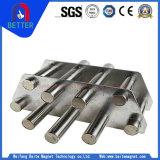 回状または正方形のタイプが付いているステンレス鋼のパイプラインのホッパー磁石か磁石の火格子