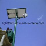 C.C 12V/24V Solar Power Street Light avec 12hrs Lighting Temps