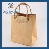 Мешок декоративного подарка бумажный с изготовлением печатание решетки высокого качества дешевым (DM-GPBB-100)