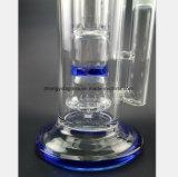 Tubulação de vidro azul do vidro de filtro do favo de mel de 15.75 polegadas do recicl