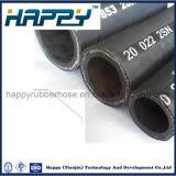 Boyau 2sn en caoutchouc hydraulique renforcé tressé d'en 853 du fil d'acier DIN