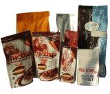 De zorgvuldig Geselecteerde Materiële Zak van de Koffie met Klep