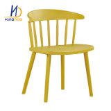 Diseño moderno popular PP colorida silla de plástico Silla de Comedor en venta