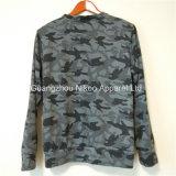 Kundenspezifische Qualität gewaschene BaumwolleCamo Crewneck Sweatshirts en gros