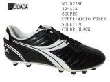 Schwarze Farben-Mann-Fußball-Schuhe