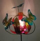 شمسيّة حديد فن [بوتّرفلي فلوور] مصباح