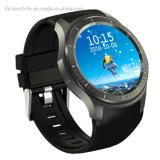 de Slimme Telefoon van het Horloge 3G/Android Bluetooth met het Tarief van het Hart Dm368