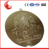 China Professional Custom Design Livre Medalha de Metal
